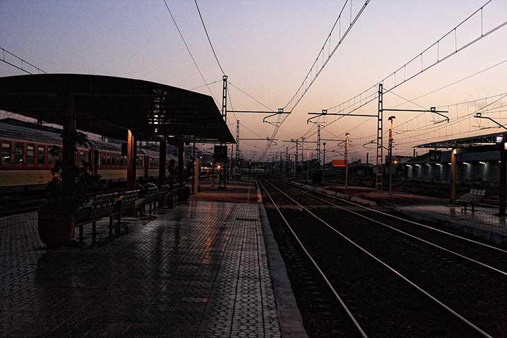 カサブランカの駅